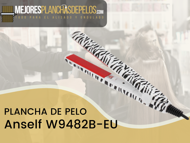 Plancha de Pelo Anself W9482B-EU