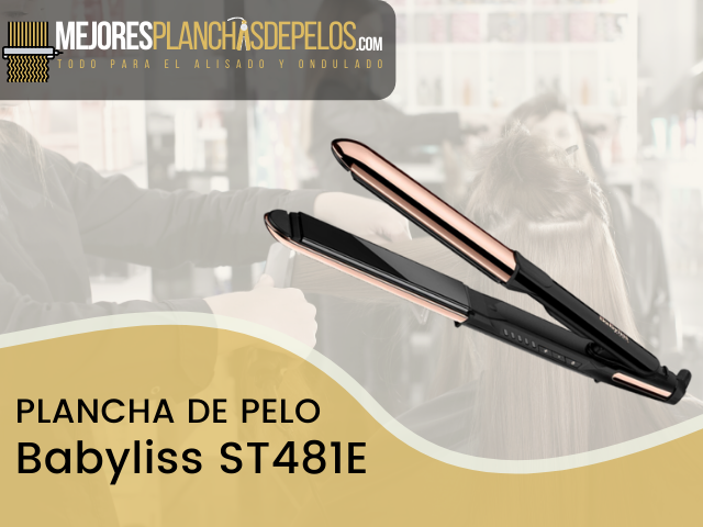 Plancha de Pelo Babyliss ST481E