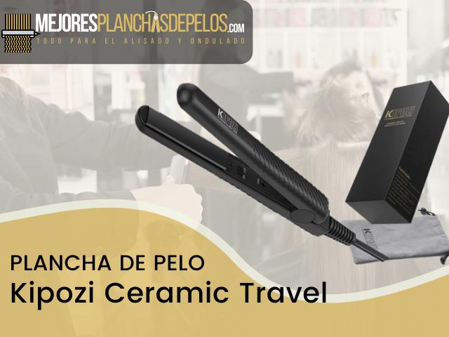 Plancha de Pelo Kipozi Ceramic Travel