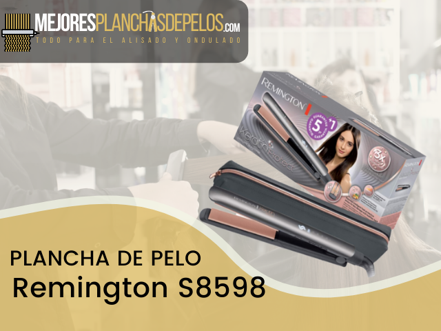 Plancha de Pelo Remington S8598